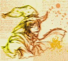 Rincewind the -Wizzard- Colo by Waterqueen-san