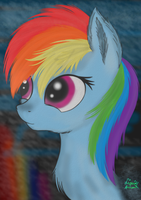 A Rainbow In The Fog by jazzy-rose-hxc