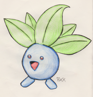 Oddish by Shabou