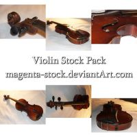 Old Violin Pack by magenta-stock