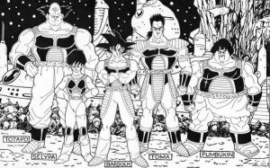 Bardock's Crew Completed by Nes44Nes