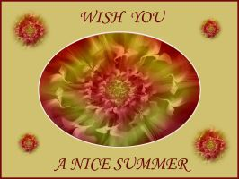 I wish you a very nice summer by VirusNO1