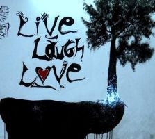 Live life (Wall Mural) by chauhan03