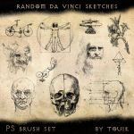 Random Da Vinci Sketches by touik