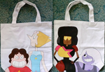Steven Universe Double Sided Tote Bag by cross-academy-crafts