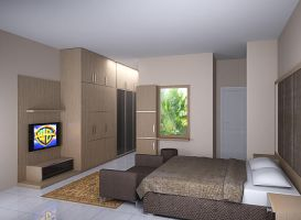 master bedroom minimalist 2nd view by simbahswan