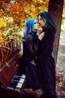 Gothic Couple_3 by AngeliqueDeSange