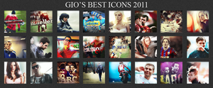 My Besti icons off 2011 by GioGXF