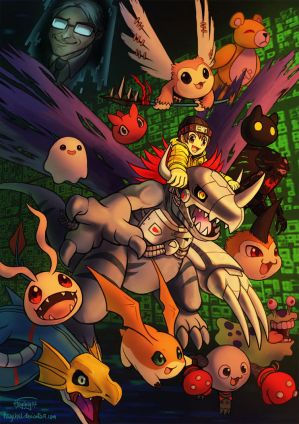 Digimon World by Haychel