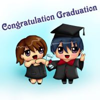 Congratulation Graduation by cheing