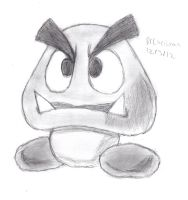 Paper Goomba by DrChrisman