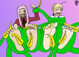 Terror of the Tickling Tentacles! Colored by 12Beast1212