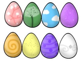 [CLOSED] Colors of the Rainbow Egg Adopts by J-M-X-P
