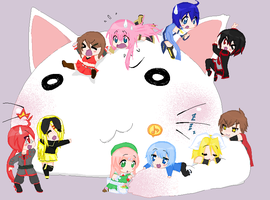Random Picture by RinKagamine-Vocaloid