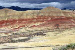 Painted Hills 2 by GreenEyezz-stock