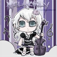 a Melancholic Violinist by Chocoreaper