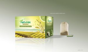 Naturex Tea Packaging Design by grafiket