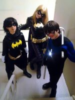 Batfamily by ElspethDark