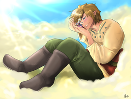 Skyward Sword-Forever Mine by Lunafex
