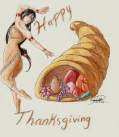 +Happy Thanksgiving+ by Fire-sama