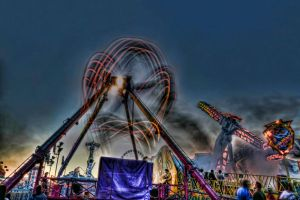 Melbourne Show Rides 4 by djzontheball