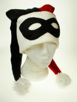 Harley Quinn Hat by Bubblecat