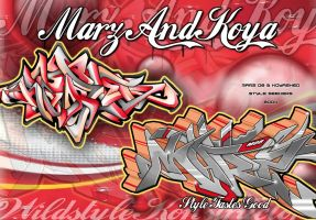 Marz Koya - Style tastes good by marzgfx