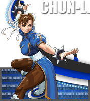 Chun-Li poptag by BlueImpulse06