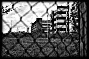 behind wire by awjay