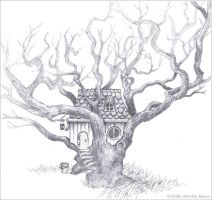 tree house by monbaum