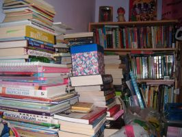 The books in my room! by Tigzzz
