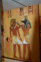 Anubis and Ramses III by SPIDIvonMARDER