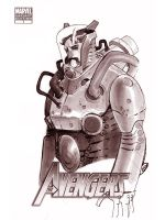 WONDERCON 2012 - METAL SUIT by EricCanete
