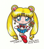 Chibi Sailor Moon S by sakkysa