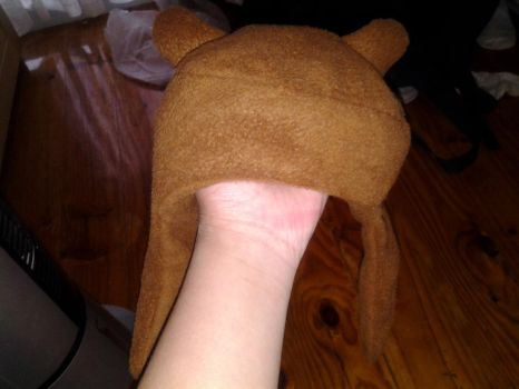 Adventure Time Finn Hat!! or bear hat by MarchOfHell