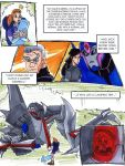 Starscream and The Girl by neoyi
