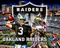 Oakland Raiders Wallpaper by tmarried