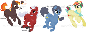 MLP Adoptables by MintChocolatey