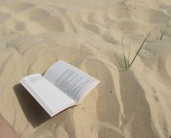 book on the sand by Sweetlylou