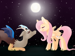 Discord and Fluttershy love forever by GaaBcio13