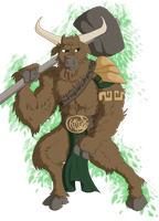 Romulus The Minotaur by 0Some-weirdGuy0