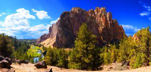 Smith Rock by mightystag