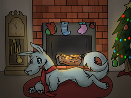 Waiting for Santa [GIFT] by Pepper-Head