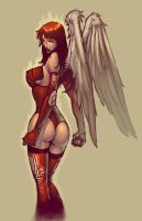 Angelic Angel by redeve