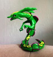 Rayquaza Sculpture by NoreyDragon
