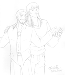 Marvel Crack Pairings - Tony and Thor by Threshie