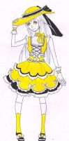 Lolita in Yello by Cardboard-Octopus