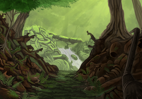 Wild Yards Concept Art by Promilie