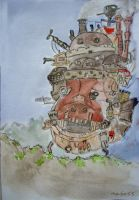Howls Moving Castle by maybe55