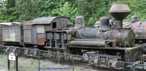 Eastern Railway and Lumber Company Shay Number 1 by GundamMech101